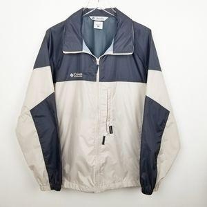 COLUMBIA Men's Jacket/Windbreaker size Large